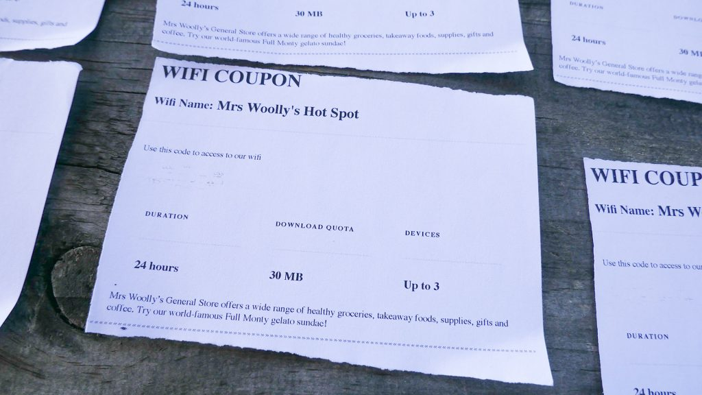 Wifi Coupon Campingplatz